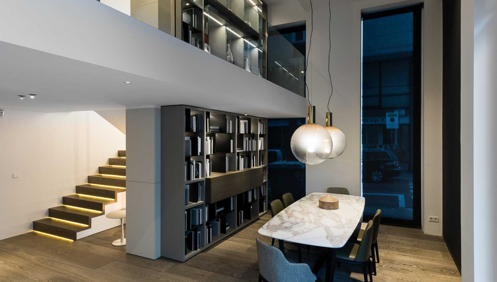 Poliform via augusta barcelona showroom