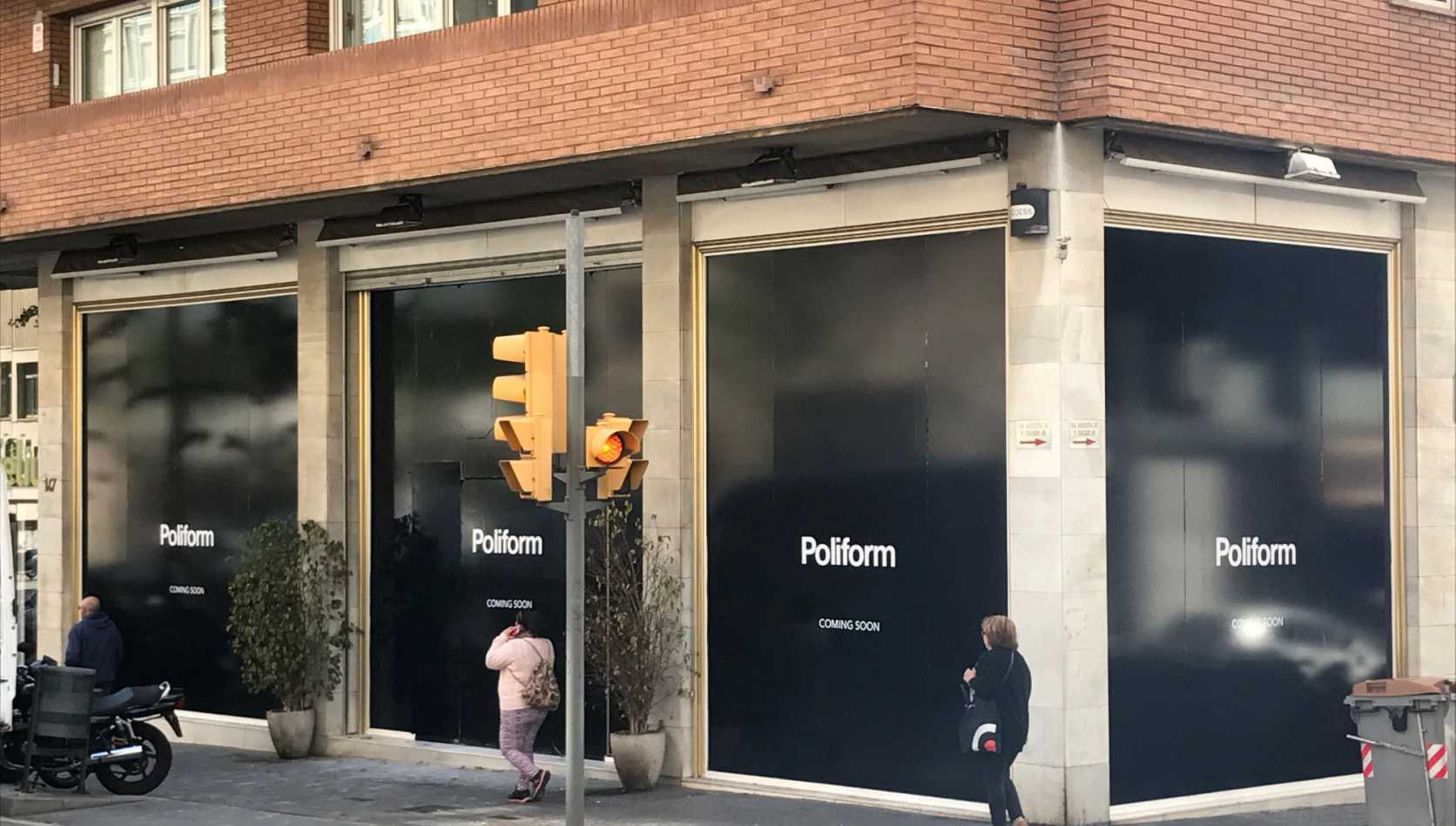 New Poliform Flagship Store Barcelona
