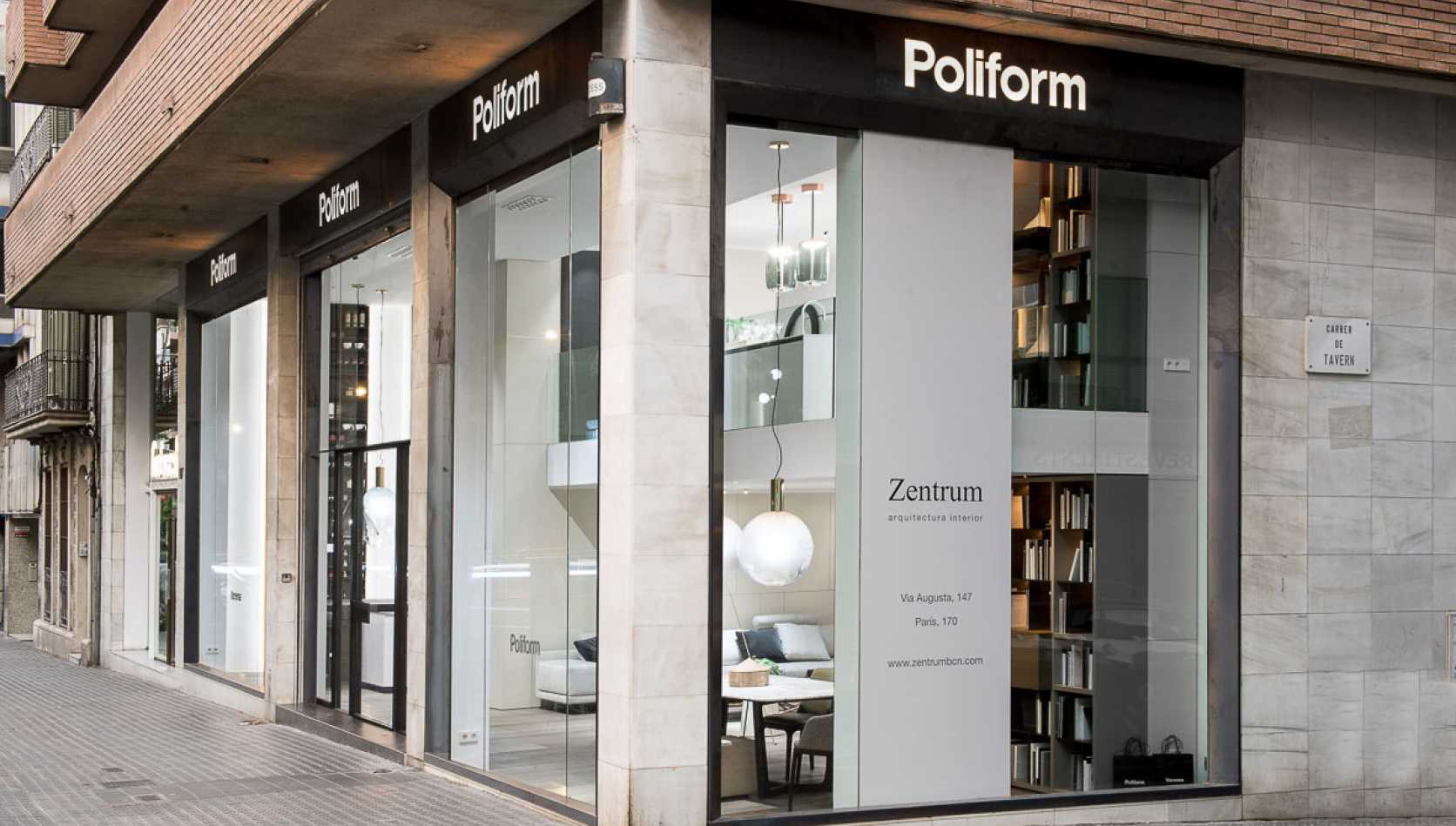 How is our Flagship Store Poliform